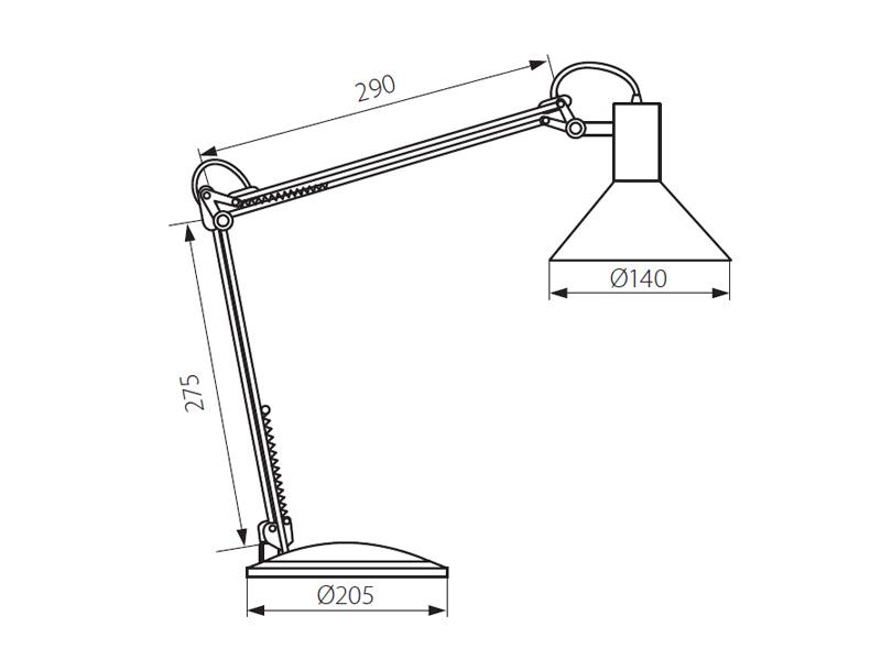 Настольная лампа своими руками чертеж 50
