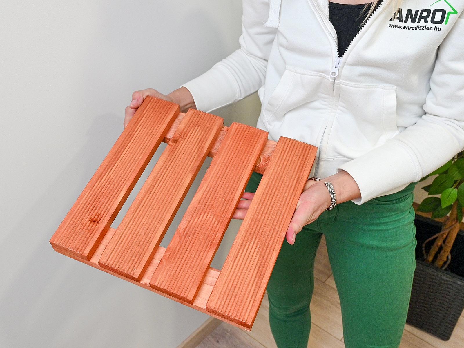 Környezettudatosság - a Nortene Lasuré termékek FSC minősítésű fa anyagból készülnek.