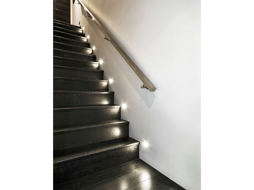 Kanlux Oldalfali dekor LED lámpa APUS, meleg fehér (12V/0,8W) - Ár ...