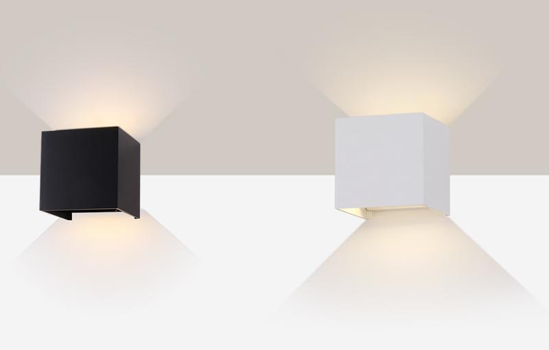 Remekül variálható desig a fényterelő lapoknak köszönhetően.