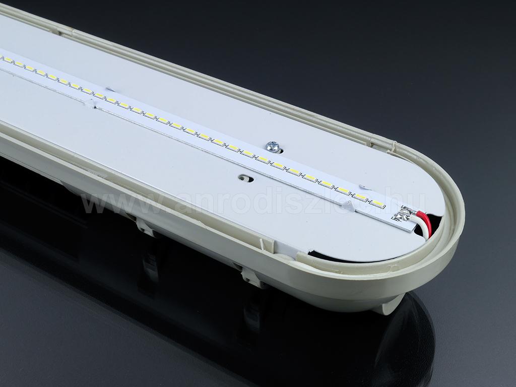 3014 LED chipek a VTAC polikarbonát lámpatestjében