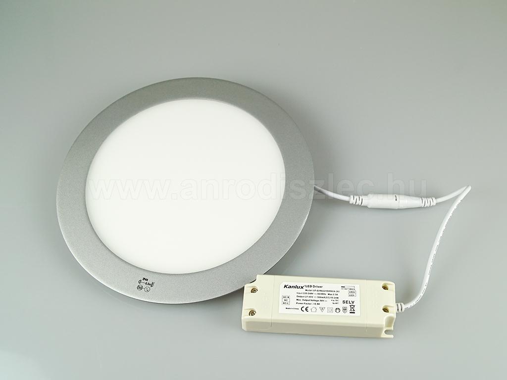 kanlux rounda led panel ip44 ez st 224 mm 18 watt meleg feh r r 11 027 ft led panel. Black Bedroom Furniture Sets. Home Design Ideas