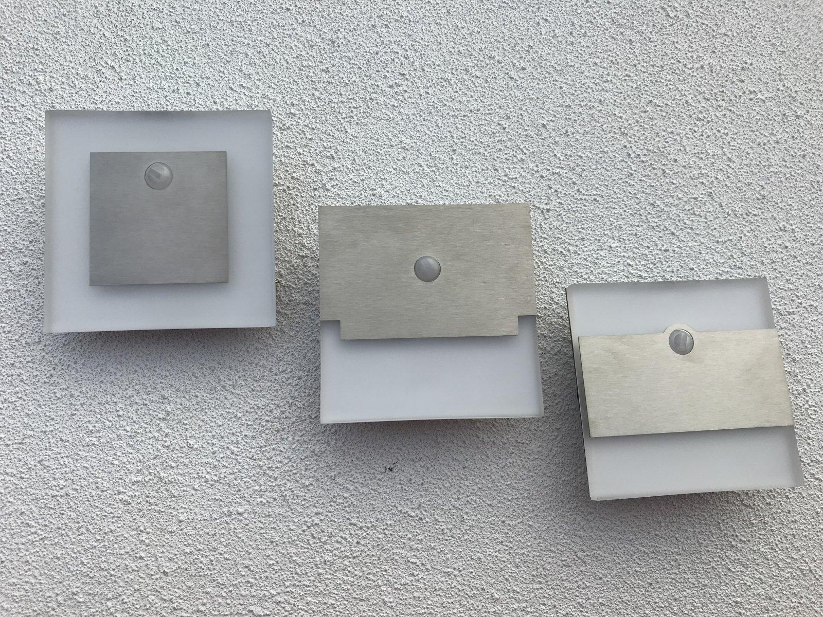 Elegáns fali lámpák ultravékony kivitelben: Apus, Sabik, Terra PIR érzékelővel