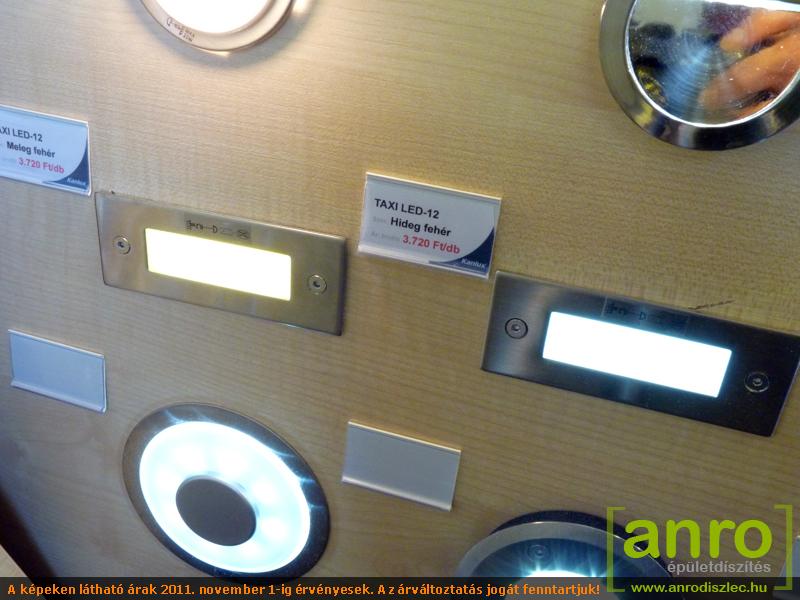 Kanlux Oldalfali lámpatest TAXI LED-12 melegfehér - Ár: 3 710 Ft ...
