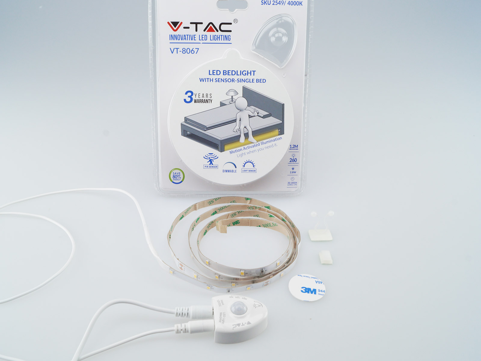 V-TAC ágyvilágítás