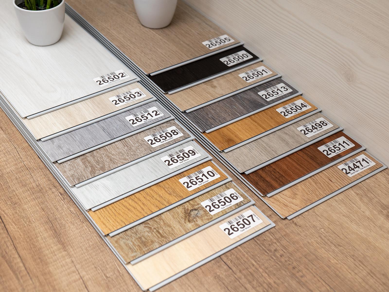 Számtalan színből lehet választani, ha a megfelelő SPC vinyl padlóburkolót keressük!