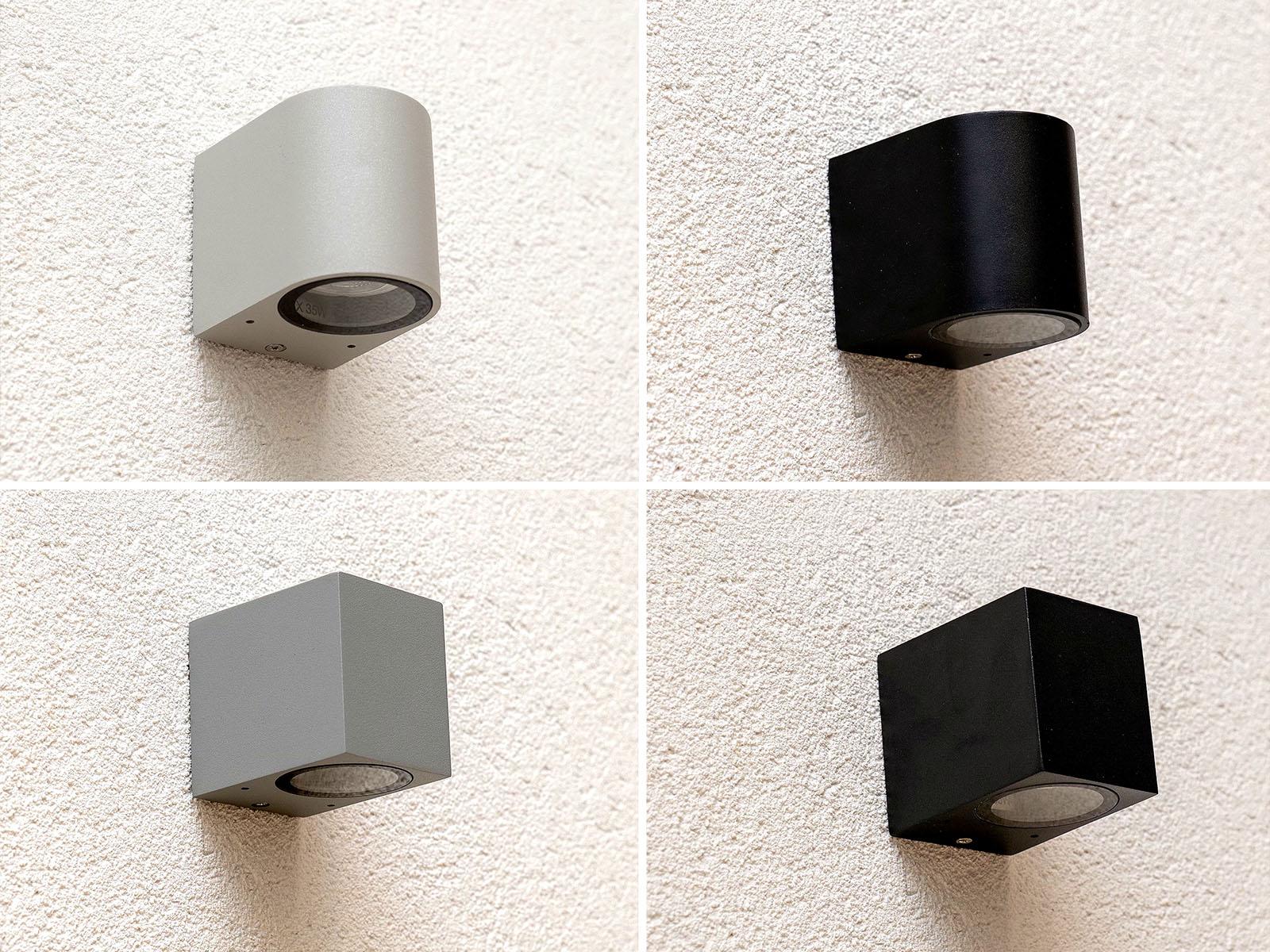 A lefelé világító Wamp fali lámpák 4-féle változatban rendelhetőek meg az ANRO Webáruházban.
