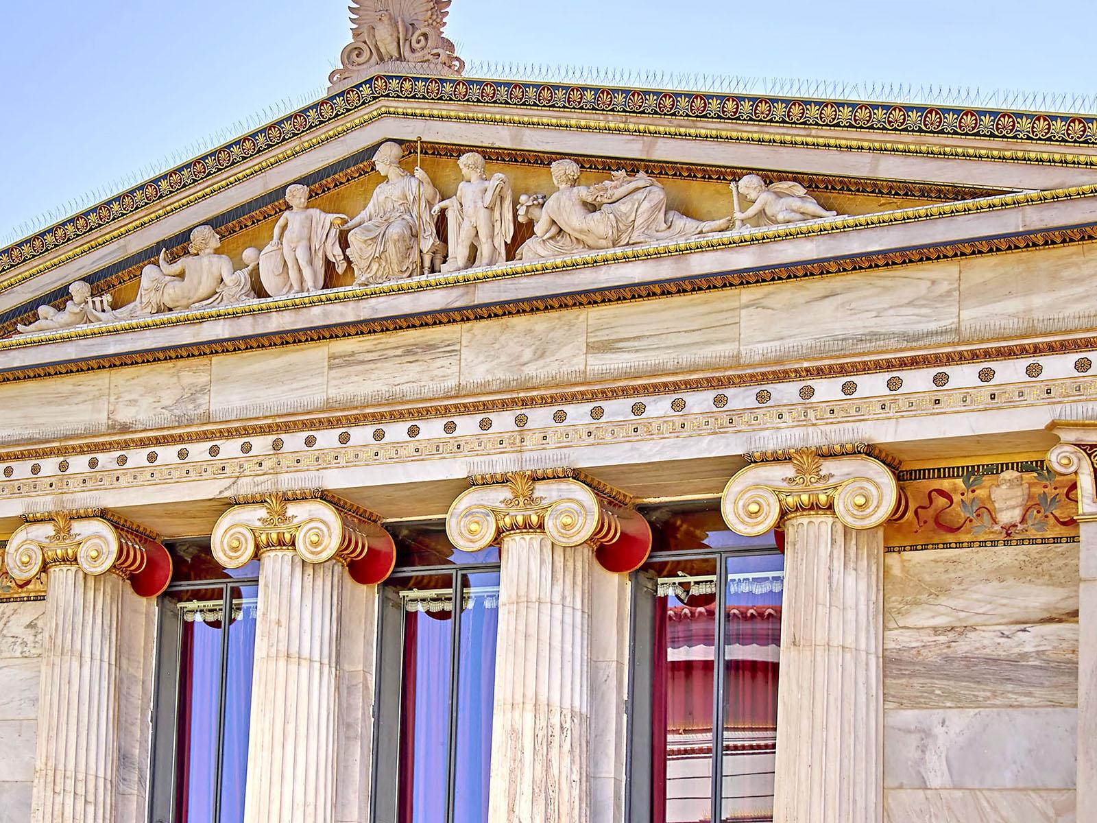 Az épületek díszítése már az ókorban is fontos volt!