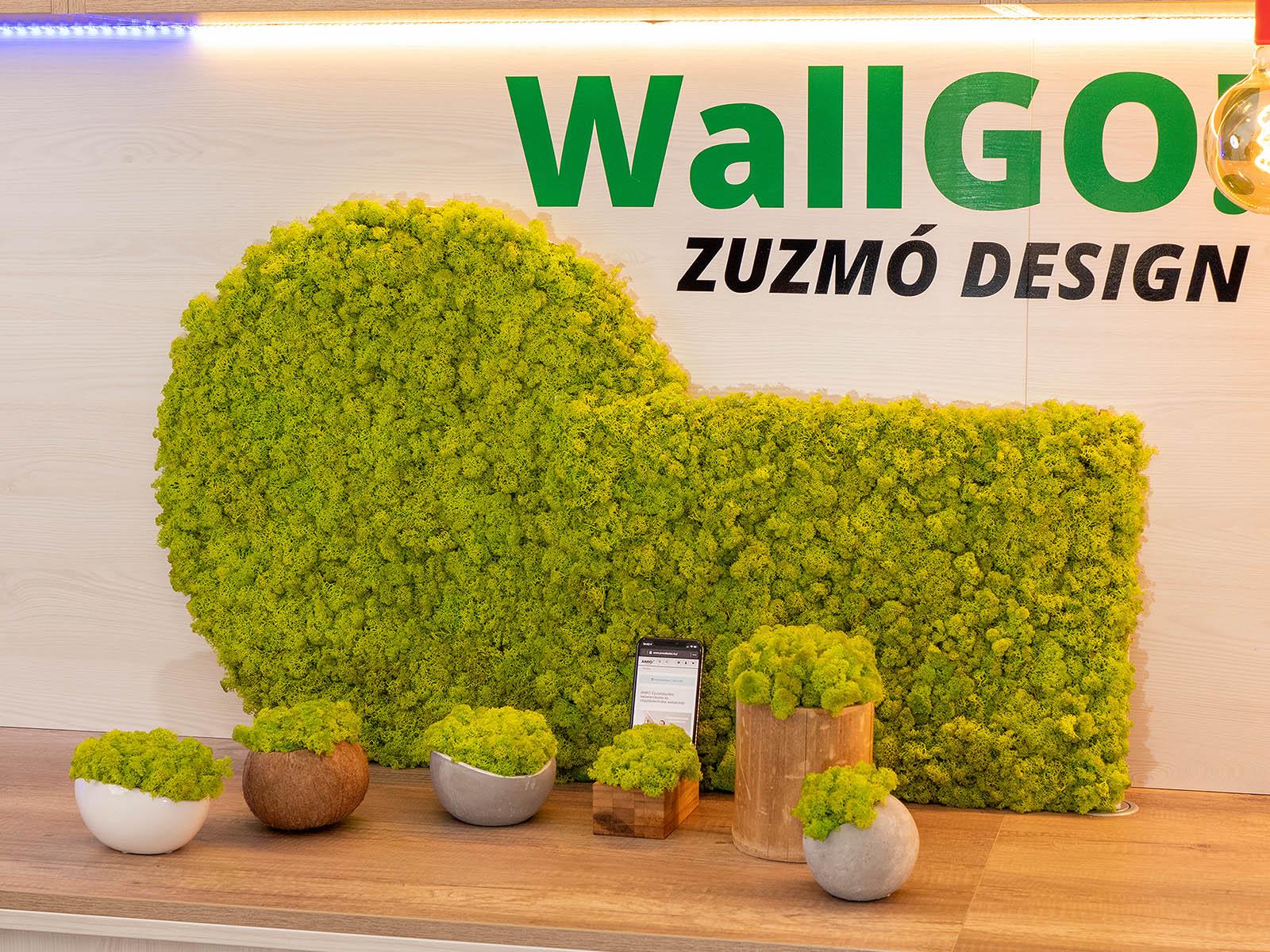 WallGo Design: modern zuzmó dekoráció irodákba és otthonokba egyaránt!