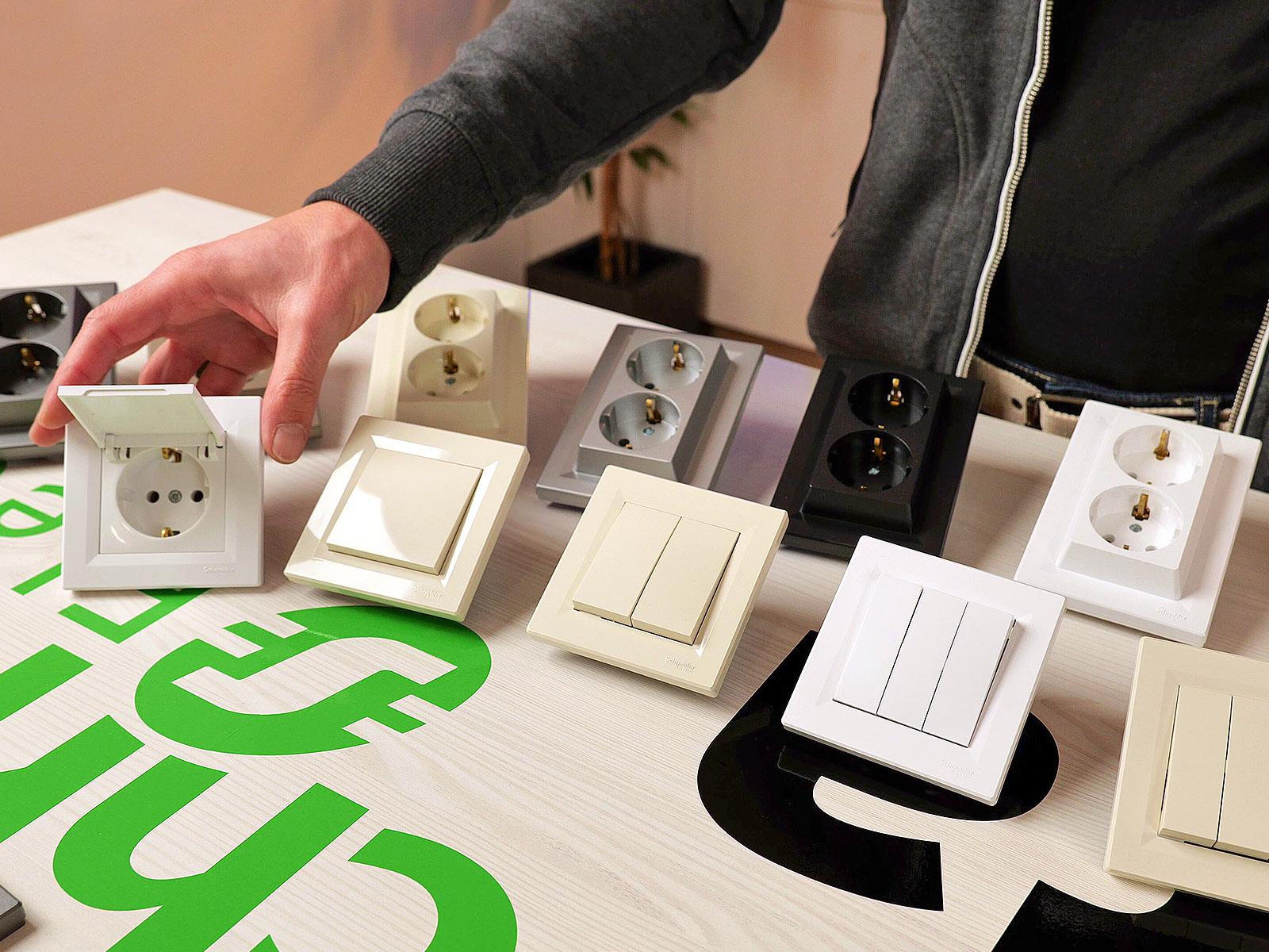 Villanykapcsoló és dugalj kompletten - mert a legtöbb háztartásba ebből kell a legtöbb!