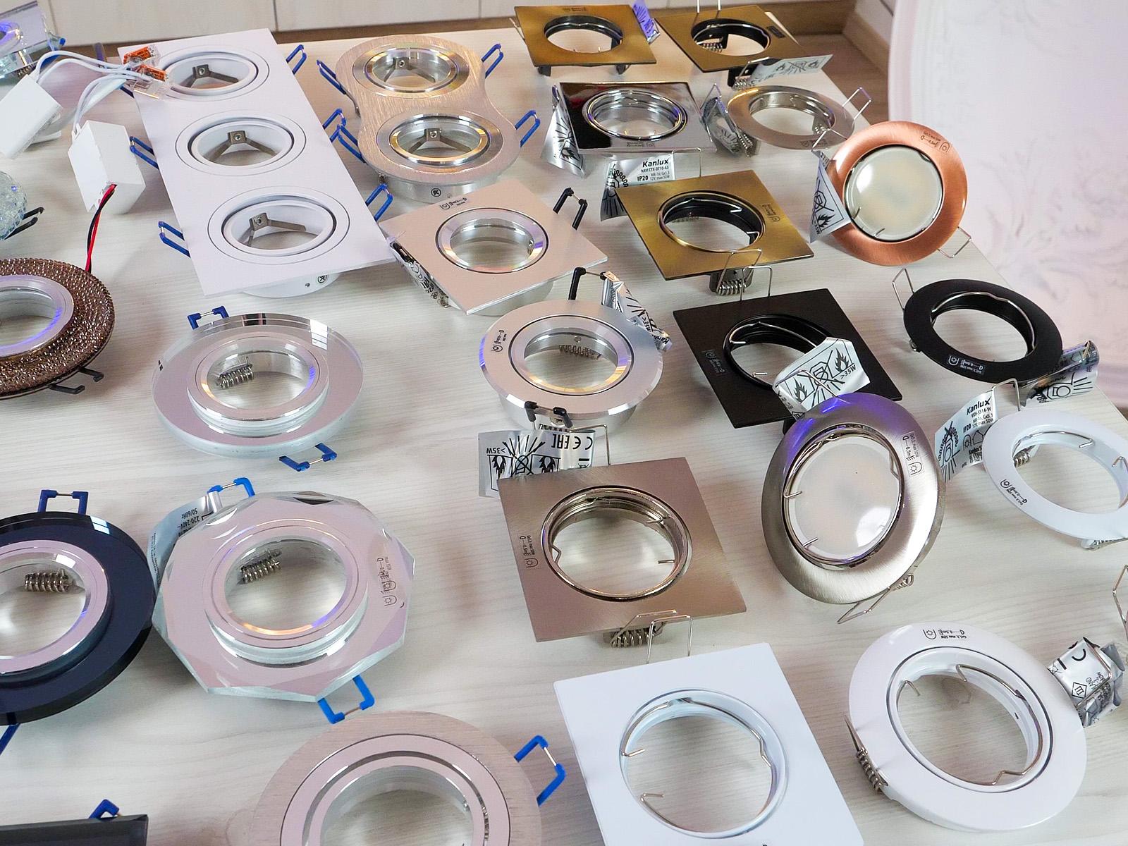 Több, mint 350-féle különböző típusú spotlámpa kapható az ANRO Webáruházban!