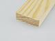 Gyalult fa négyszögléc - fa barkácsléc, skandináv fenyőből (10x30mm)