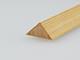 Gyalult fa háromszögléc - fa sarokléc, skandináv fenyőből (15x15mm)