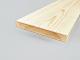 Gyalult fa négyszögléc - fa barkácsléc, skandináv fenyőből (20x145mm)