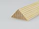Gyalult fa háromszögléc - fa sarokléc, skandináv fenyőből (20x20mm)