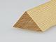 Gyalult fa háromszögléc - fa sarokléc, skandináv fenyőből (25x25mm)