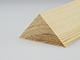 Gyalult fa háromszögléc - fa sarokléc, skandináv fenyőből (40x40mm)