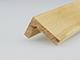 Fa élvédő - gyalult fa kalapléc skandináv fenyőből (20x30mm) L profilú