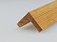 Fa élvédő - gyalult fa kalapléc skandináv fenyőből (25x25mm)