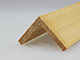 Fa élvédő - gyalult fa kalapléc skandináv fenyőből (40x40mm)