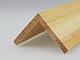 Fa élvédő - gyalult fa kalapléc skandináv fenyőből (45x45mm)