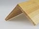 Fa élvédő - gyalult fa kalapléc skandináv fenyőből (60x60mm)
