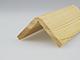 Fa élvédő mart mintával - gyalult fa kalapléc skandináv fenyőből (45x45mm)