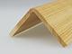 Fa élvédő mart mintával - gyalult fa kalapléc skandináv fenyőből (60x60mm)