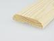 Ajtószegőléc mart díszítéssel, fa szegőléc, gyalult skandináv fenyőből (12x50mm)