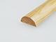 Fa díszléc: félkör keresztmetszetű fa díszítőléc, gyalult skandináv fenyőből (10x 20mm )