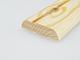 Fa díszléc: 2 oldalán lekerekített, fa díszítőléc, gyalult skandináv fenyőből (10x40mm)