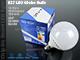 V-TAC LED lámpa E27 (13W/200°) G120 - hideg fehér