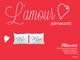 Naturtex - L'Amour díszpárna szett 40x50 cm - Mr & Mrs felirat