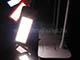 V-TAC Asztali LED lámpa fényerőszabályozható (7W) szürke Kifutó!