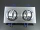 V-TAC Alumínium dupla/tripla spot (3606), 2-es, szálcsiszolt alu