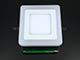 V-TAC CR80 LED panel (négyzet, oldalvil.) 6+2W - meleg fényű