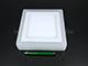 V-TAC CR80 LED panel (négyzet, oldalvil.) 12+3W - meleg fényű