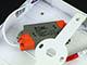 V-TAC CR80 LED panel (négyzet, oldalvil.) 12+3W - hideg fényű