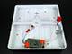 V-TAC CR80 LED panel (négyzet, oldalvil.) 18+4W - hideg fényű