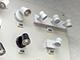 V-TAC Avidea mennyezeti-oldalfali GU10 lámpatest, fehér, 3-as