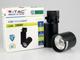 V-TAC Sínes COB LED lámpa (3F) - 15W (24°) hideg fehér (VT) 5év! Kifutó!