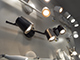 V-TAC R-Duo mennyezeti spot LED lámpatest (2x6W) fehér, meleg f.