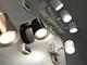 V-TAC R-Trio mennyezeti spot LED lámpatest (3x6W) fehér, meleg f.
