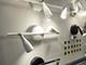 V-TAC S-Double mennyezeti spot LED lámpatest (2x4.5W) fehér, meleg f.