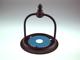 V-TAC Classic Down kültéri oldalfali lámpa (E27) fekete + réz
