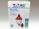 V-TAC Classic Up kültéri oldalfali lámpa (E27) fekete + réz