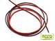 LEDTech Vezeték LED szalaghoz, piros/fekete (2x1 mm2) 100 méter