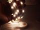 V-TAC LED szalag szett ágyvilágításhoz: fényerő állítás, mozgásérzékelés, 2x120 cm természetes fehér