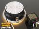 LED mélysugárzó (225 mm) 30W (kerek) hideg fehér