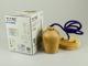 V-TAC Fa burás lámpa E27 foglalattal, lila színű vezetékkel